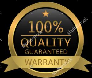100% pénzvisszatérítési garancia minden termékre
