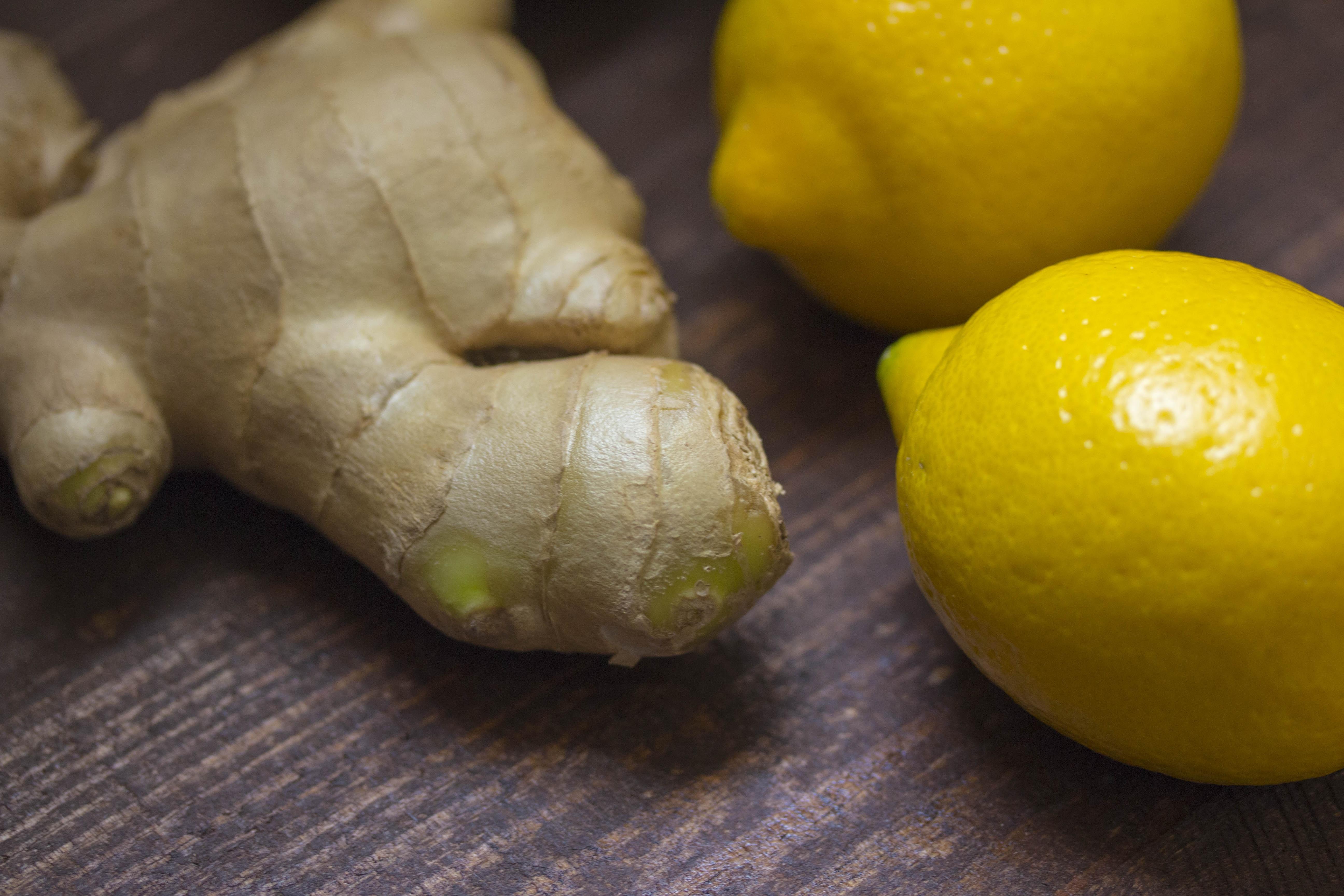 Gyömbér citrommal, köhögés ellen