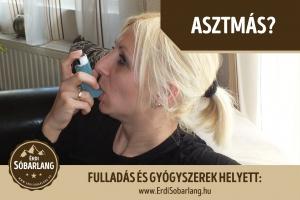 Sótermékek Asztmára gyógyszerek helyett